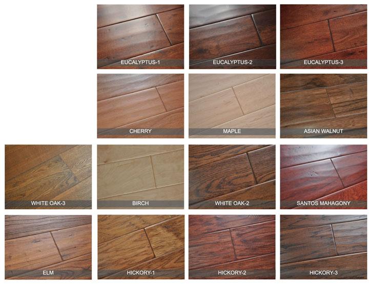 Greenvills White Oak Engineered Wood Flooring